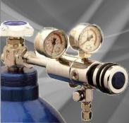 Reinstgasdruckminderer für Laboranwendungen