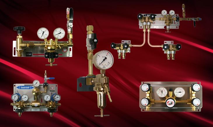 Anlagen Zentrale Gaseversorgung